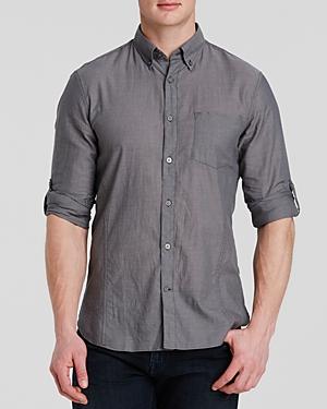 John Varvatos Basic Button-Down Shirt
