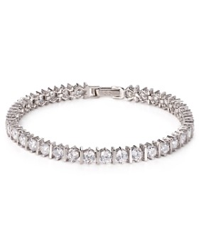 Crislu - Bar Hand Round-Cut Tennis Bracelet, 10.0 ct. t.w.