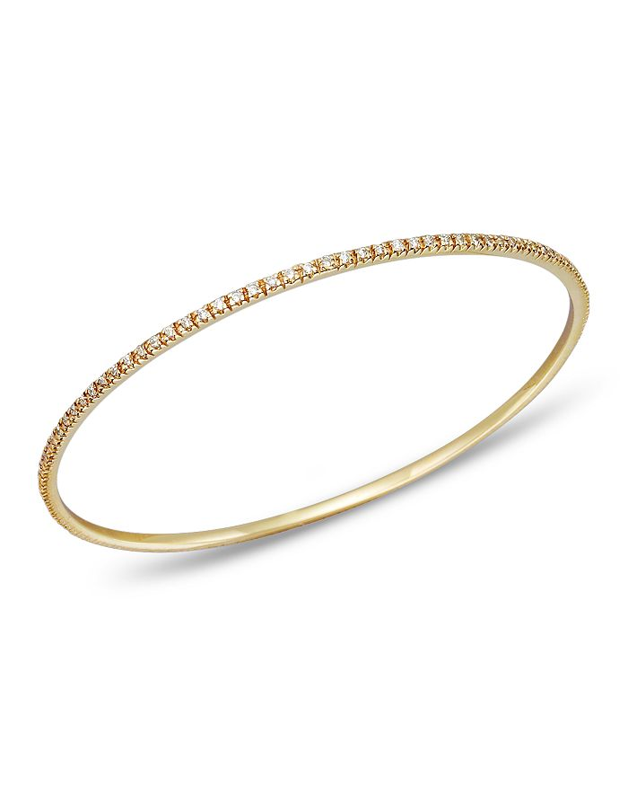 KC Designs - Diamond Bangle in 14K Yellow Gold
