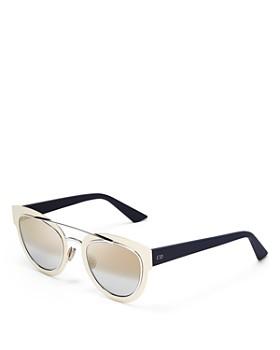 Dior - Women's Mirrored Chromic Cat Eye Sunglasses, 42mm