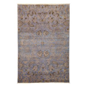 Suzani Collection Oriental Rug, 4'1 x 6'2