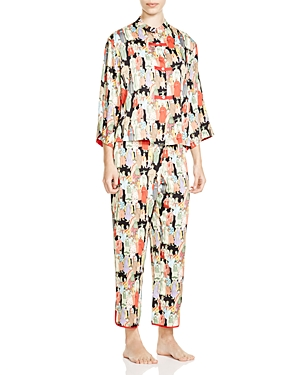 Natori Dynasty Mandarin Pajama Set