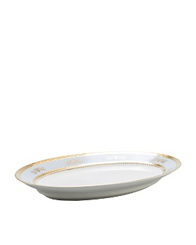 """Philippe Deshoulieres - """"Orsay"""" Oval Platter"""