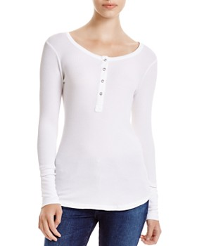 26ab2f65 Splendid - Thermal Henley Top ...