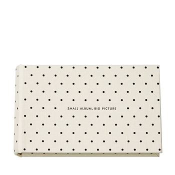 "kate spade new york - Small ""It All Just Clicked"" Photo Album, Deco Dots"