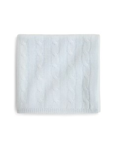 Bloomie's Infant Boys' Cable-Knit Blanket - 100% Exclusive - Bloomingdale's_0