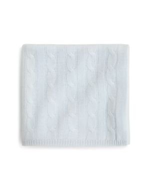Bloomie's Infant Boys' Cable-Knit Blanket - 100% Exclusive