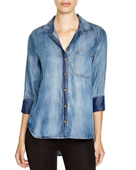 Bella Dahl - Chambray Button-Down Shirt