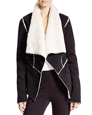 Karen Kane Faux Shearling Jacket