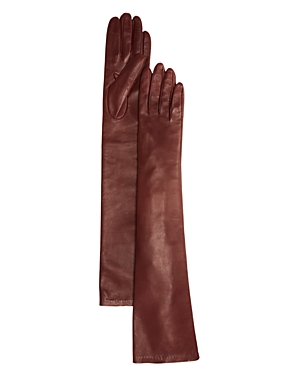 Victorian Gloves | Victorian Accessories Bloomingdales Long Leather Gloves - 100 Exclusive AUD 221.91 AT vintagedancer.com