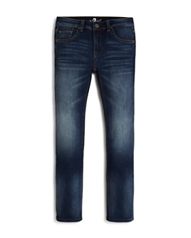 7 For All Mankind - Boys' Slimmy Slim Straight Jeans - Little Kid