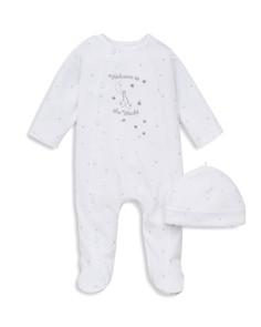 Little Me Unisex Welcome to the World Footie & Hat Set - Baby - Bloomingdale's_0