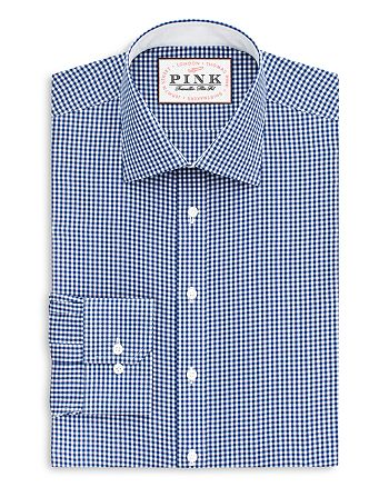 Thomas Pink - Hampson Check Dress Shirt - Bloomingdale's Regular Fit