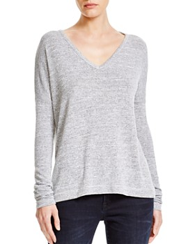 rag & bone - Theo Long-Sleeve V-Neck Tee