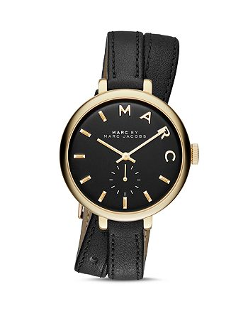 MARC JACOBS - Sally Leather Strap Wrap Watch, 36mm - 100% Exclusive
