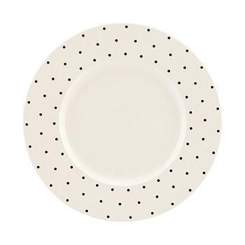 kate spade new york - Larabee Dot Dinner Plate