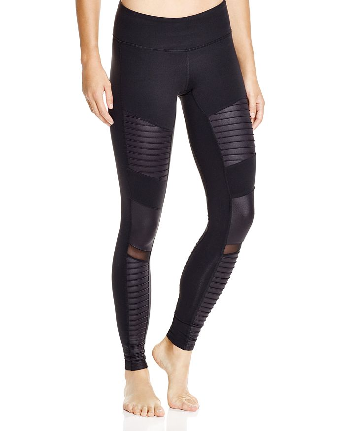 3572ae0504373 Alo Yoga Moto Leggings | Bloomingdale's