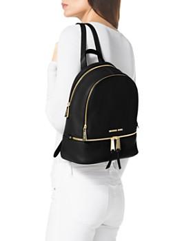 5f9aec0cb5 ... MICHAEL Michael Kors - Rhea Zip Small Leather Backpack