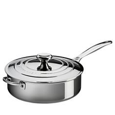 Le Creuset Stainless Steel 4.5-Quart Sauté Pan With Lid - Bloomingdale's_0