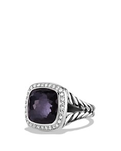 David Yurman - Albion Ring with Black Orchid and Diamonds