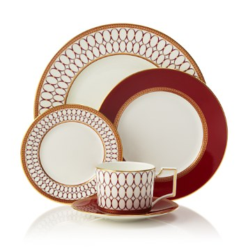 $Wedgwood Renaissance Red 5-Piece Place Setting - Bloomingdale's