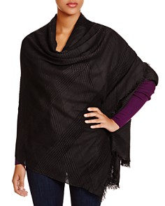 Echo - Pleated Wrap Scarf