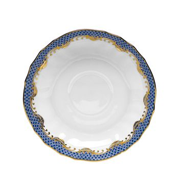 Herend - Fishscale Canton Saucer