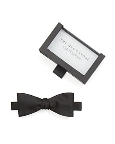 The Men's Store at Bloomingdale's Solid Satin Self-Tie Bow Tie_0