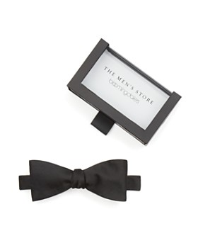 The Men's Store at Bloomingdale's - Solid Satin Self-Tie Bow Tie - 100% Exclusive