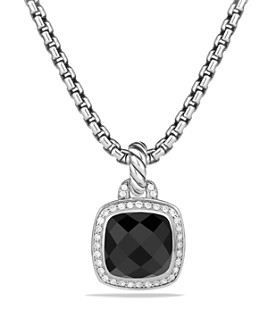 David Yurman - Albion Pendant with Black Onyx and Diamonds