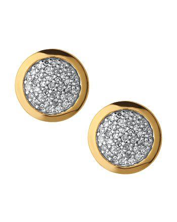 Links of London - Diamond Essentials Pavé Round Stud Earrings