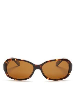 kate spade new york Cheyenne Polarized Square Sunglasses, 55mm