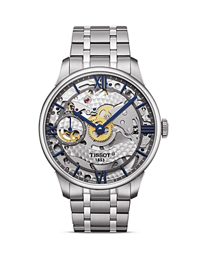 Tissot Chemin Des Tourelles Squelette Men's Watch, 42mm