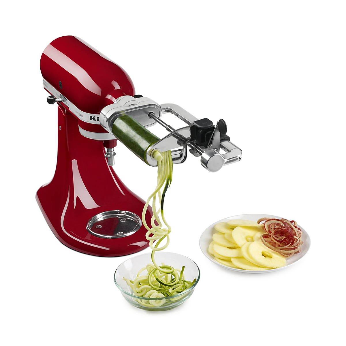KitchenAid 5-Blade Spiralizer with Peel, Core and Slice Attachment ...