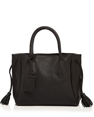 Longchamp Small Penelope Leather Tote Bloomingdale S
