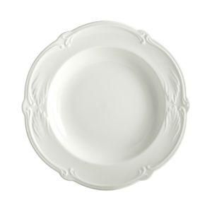 Gien France Rocaille White Soup Bowl