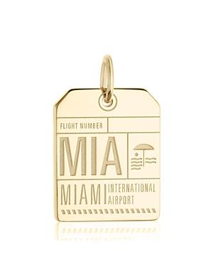 Jet Set Candy Mia Miami Luggage Tag Charm