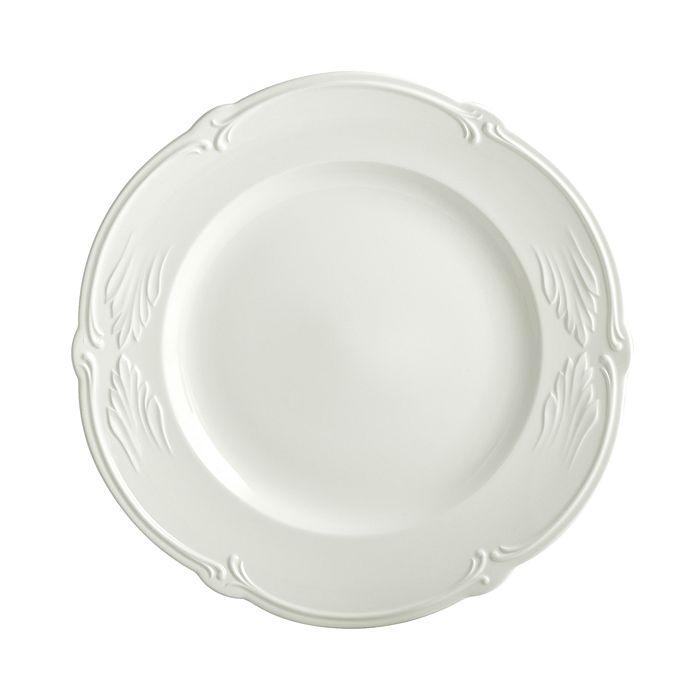 Gien France - Rocaille White Round Platter
