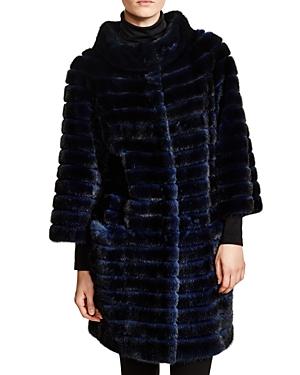 Maximilian Corduroy Mink Coat