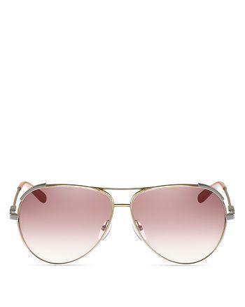 2386bb5dc6e Chlo eacute  - Women s Nerine Brow Bar Aviator Sunglasses