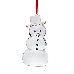 Villeroy & Boch Crystal Gems Snowman Ornament