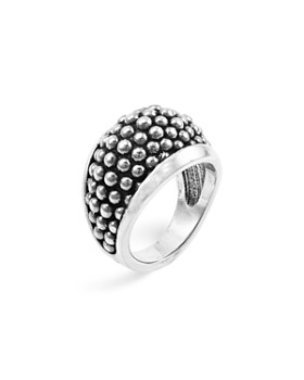 "LAGOS - LAGOS Sterling Silver ""Caviar"" Domed Ring"