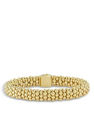 Caviar Gold Collection 18K Gold Beaded Bracelet