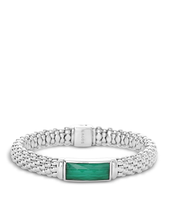 LAGOS - Sterling Silver Maya Gemstone Doublet Rope Bracelets