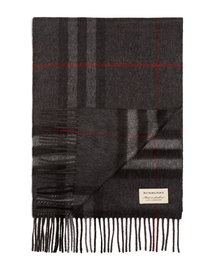 Burberry Scarves CLASSIC CHECK CASHMERE SCARF