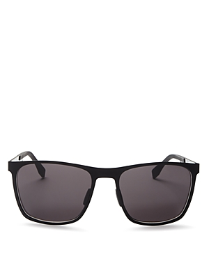 Boss Hugo Boss Metal Rectangle Sunglasses, 57mm