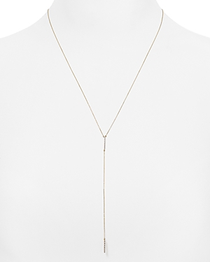 Adina Reyter Diamond Pave Y Necklace, 19
