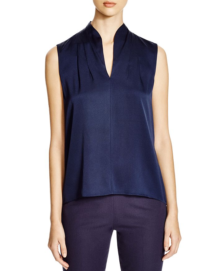 Elie Tahari - Judith Stretch Silk Blouse