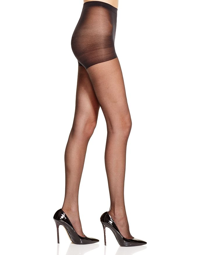 HUE - Micro Mesh Control Top Tights