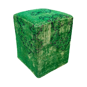 Click here for Bloomingdales Vintage Carpet Ottoman  Green prices